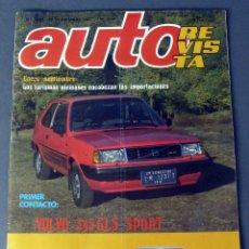 Coches: REVISTA AUTO Nº 1259 28 NOVIEMBRE 1981 . Lote 56613431