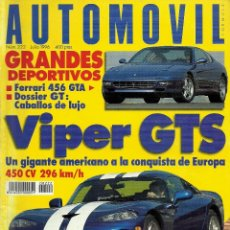 Autos - REVISTA AUTOMOVIL FORMULA. NUM. 222. JULIO 1996. TEST VOLVO 850R,SEAT CORDOBA SX 16V, OPEL VECTRA CE - 56702348