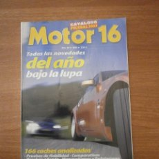Coches: CATALOGO, PRUEBAS 2003 - MOTOR 16- Nº 84-2003-. Lote 57305120