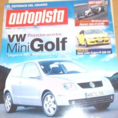 Coches: AUTOPISTS 2299 LOS MINI DESCAPOTABLES 2003. Lote 57361111