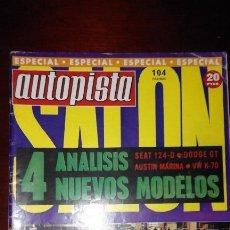 Autopista nº 639 (8-15 Mayo de 1971) Especial Salón (SEAT 124D, Dodge 3700 GT, Austin Marina)