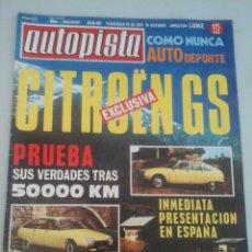 Coches: AUTOPISTA 662-42/1971-. Lote 73666698