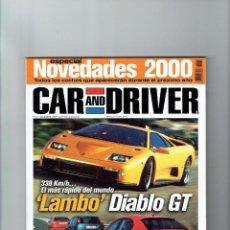 Coches: REVISTA CAR&DRIVER Nº 51- 1999. Lote 57589222