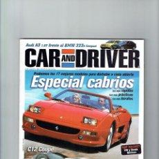 Coches: REVISTA CAR&DRIVER Nº 47- 1999. Lote 57589239
