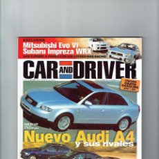 Coches: REVISTA CAR&DRIVER Nº 63- 1999. Lote 57589295