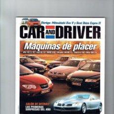 Coches: REVISTA CAR&DRIVER Nº 41- 1999. Lote 57589406