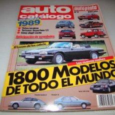 Coches: AUTO CATALOGO Nº 9 - 1989. Lote 57717131
