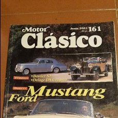 Coches: MOTOR CLASICO Nº 161 JUNIO 2001. Lote 57856641