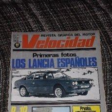 Carros: VELOCIDAD Nº 910 (17-02-79) (LANCIA, MERCEDES-BENZ G, FUTURO RENAULT FUEGO, SEAT 124 2000, PASSAT). Lote 57872523