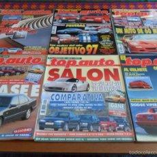 Coches: TOP AUTO NºS 8 67 69 71 85 99. BUEN ESTADO Y RARAS.. Lote 57907658