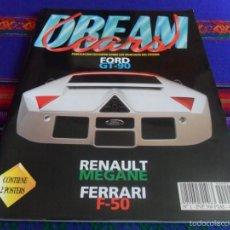 Coches: DREAM CARS Nº 1 CON EL PÓSTER. PUBLICACIÓN EXCLUSIVA SOBRE LOS VEHÍCULOS DEL FUTURO FORD GT-90. RARA. Lote 57917471