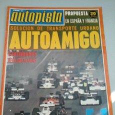 Coches: AUTOPISTA - Nº760 -1973-SAAB 99/ALFA-ROMEO ALFASUD--SEAT 132-DAUPHINE 160CV-. Lote 58006975