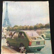 Coches: REVISTA SEAT NUMERO 93 NOVIEMBRE 1974 . Lote 58065465