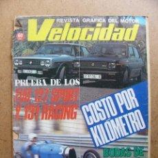 Autos - Velocidad nº 928 Seat Fiat 127 Sport Fiat 131 Racing 2000 TC - 58267213