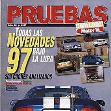 Coches: MOTOR 16 PRUEBAS 1997. Lote 58295127