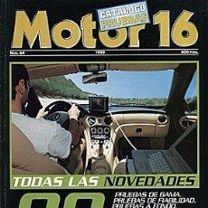 Coches: MOTOR 16 NOVEDADES PRUEBAS 1999. Lote 58295155