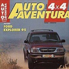 Coches: AUTO AVENTURA 4X4 Nº 92 FORD EXPLORER TOYOTA RAV-4 SUZUKI VITARA V6. Lote 58296793