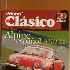 Coches: MOTOR CLASICO Nº 219. Lote 58441669