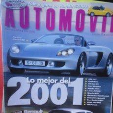 Coches: REVISTA AUTOMOVIL FORMULA NUMERO 274 AÑO 2000. Lote 58469376