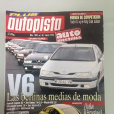 Coches: AUTOPISTA 1807, 1-3-94,DRAGSTER USA,BMW 316I COUPE,RENAULT LAGUNA, OPEL VECTRA V6 2.5, VW PASSAT VR6. Lote 58471855