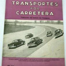 Coches: TRANSPORTES POR CARRETERA PUBLICACIÓN INSTITUTO TRABAJO Nº 23 FEBRERO 1952. Lote 59029200
