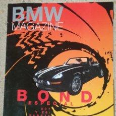 Coches: REVISTA BMW MAGAZINE ESPECIAL JAMES BOND -007 Y Z8- AÑO 1999. Lote 59061410