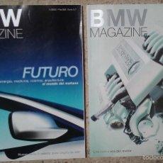 Coches: REVISTA BMW MAGAZINE NÚMEROS 1 Y 2, AÑO 2000. Lote 59069835