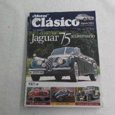 Coches: MOTOR CLASICO Nº 267. ESPECIAL JAGUAR. FIAT 1100 TV GHIA. JAGUAR C TYPE. FARMAN A6B SPORT 1924.. Lote 195179313