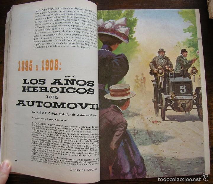 Coches: REVISTA MECANICA POPULAR MARZO 1959. VER INDICE Y FOTOS - Foto 6 - 196329482