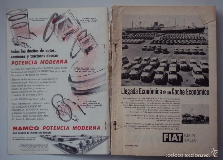 Coches: REVISTA MECANICA POPULAR MARZO 1959. VER INDICE Y FOTOS - Foto 2 - 196329482