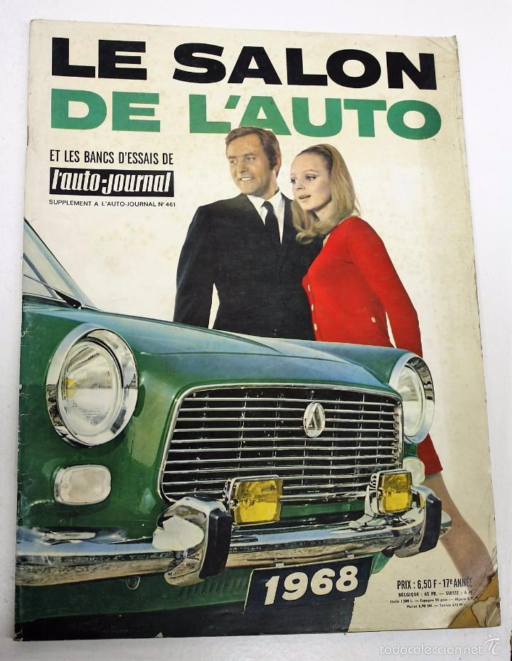 le salon de l 39 auto journal 1968 comprar revistas antiguas de coches en todocoleccion 60094463. Black Bedroom Furniture Sets. Home Design Ideas