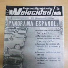 Coches: REVISTA VELOCIDAD NUMERO 187 PANORAMA ESPAÑOL . Lote 60411139