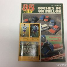 Coches: AS COLOR Nº 115 ABRIL 1988 , COCHES DE UN MILLON - CONTIENE CROMS. Lote 61604608