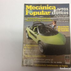 Coches: MECÁNICA POPULAR JULIO 1989. Lote 61604971