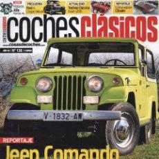 Coches: COCHES CLASICOS N. 136 - EN PORTADA: JEEP COMANDO (NUEVA). Lote 179248331