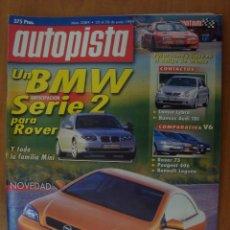 Coches: REVISTA AUTOPISTA Nº 2084 JUNIO 1999. Lote 62374618
