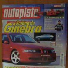 Coches: REVISTA AUTOPISTA Nº 2069 MARZO 1999. Lote 62376020