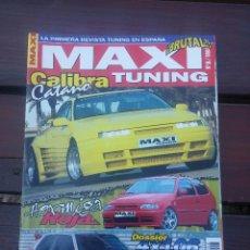 Coches: MAXI TUNING Nº 8, CALIBRA CATANO, VW POLO, PEUGEOT 106,CHRYSLER STRATUS,ESCARABAJOS,. Lote 62481040