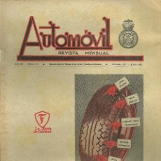 Coches: 3645.-AUTOMOVIL REVISTA MENSUAL-3ER GRAN PREMI INTERNACIONAL DE BARCELONA-MOTOCICLISMO. Lote 62582324