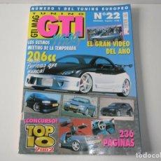 Coches: REVISTA GTI MAG, NÚMERO 22, ENERO 2003. Lote 62717320