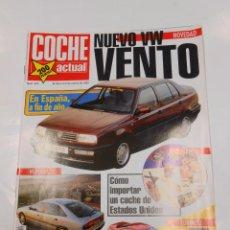 Coches: REVISTA COCHE ACTUAL Nº 202. NUEVO VW VENTO. RENAULT SAFRANE. TDKR23. Lote 136092249