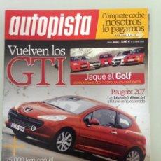 Coches: AUTOPISTA,2425,3-1-2006,RALLY LISBOA-DAKAR,COMPARATIVA GTI,PORSCHE 911 CARRERA 4S, VOLVO S60 D5. Lote 63580392