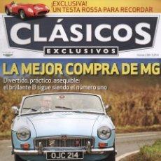 Coches: CLASICOS EXCLUSIVOS N. 98 - EN PORTADA: LA MEJOR COMPRA DE MG (NUEVA). Lote 164187260