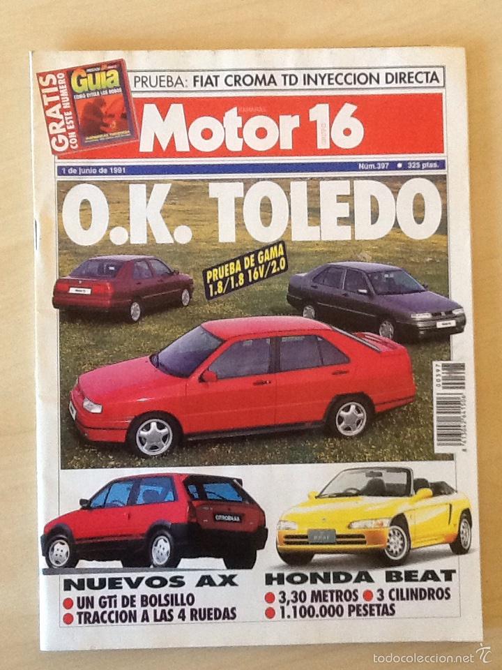 MOTOR 16 N 397 1 DE JUNIO 1991 (Coches y Motocicletas Antiguas y Clásicas - Revistas de Coches)