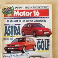 Coches: MOTOR 16 N 411 7 SEPTIEMBRE DE 1991. Lote 64353743