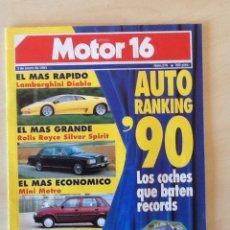 Coches: MOTOR 16 N 376 5 DE ENERO DE 1991. Lote 64354479