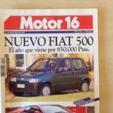 Coches: MOTOR 16 N 426 21 DE DICIEMBRE DE 1991. Lote 64355191