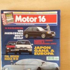 Coches: MOTOR 16 N 401 29 DE JUNIO DE 1991. Lote 64356699
