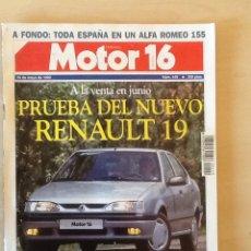Coches: MOTOR 16 N 449 26 DE MAYO DE 1992. Lote 64357201
