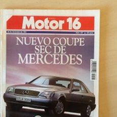 Coches: MOTOR 16 N 427 28 DE DICIEMBRE DE 1991. Lote 64360051